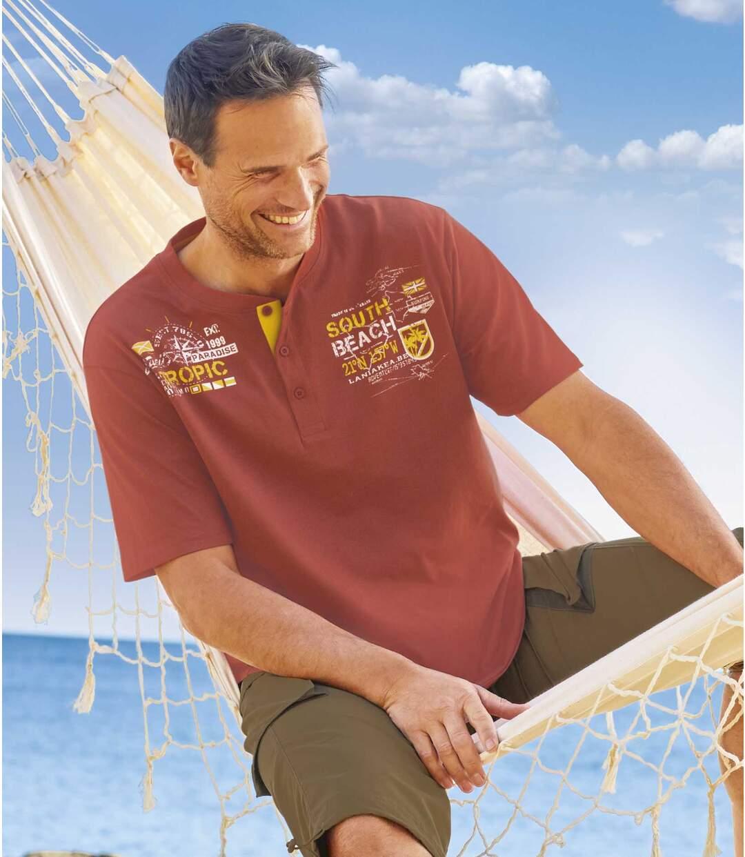 Súprava 2 tričiek South Beach