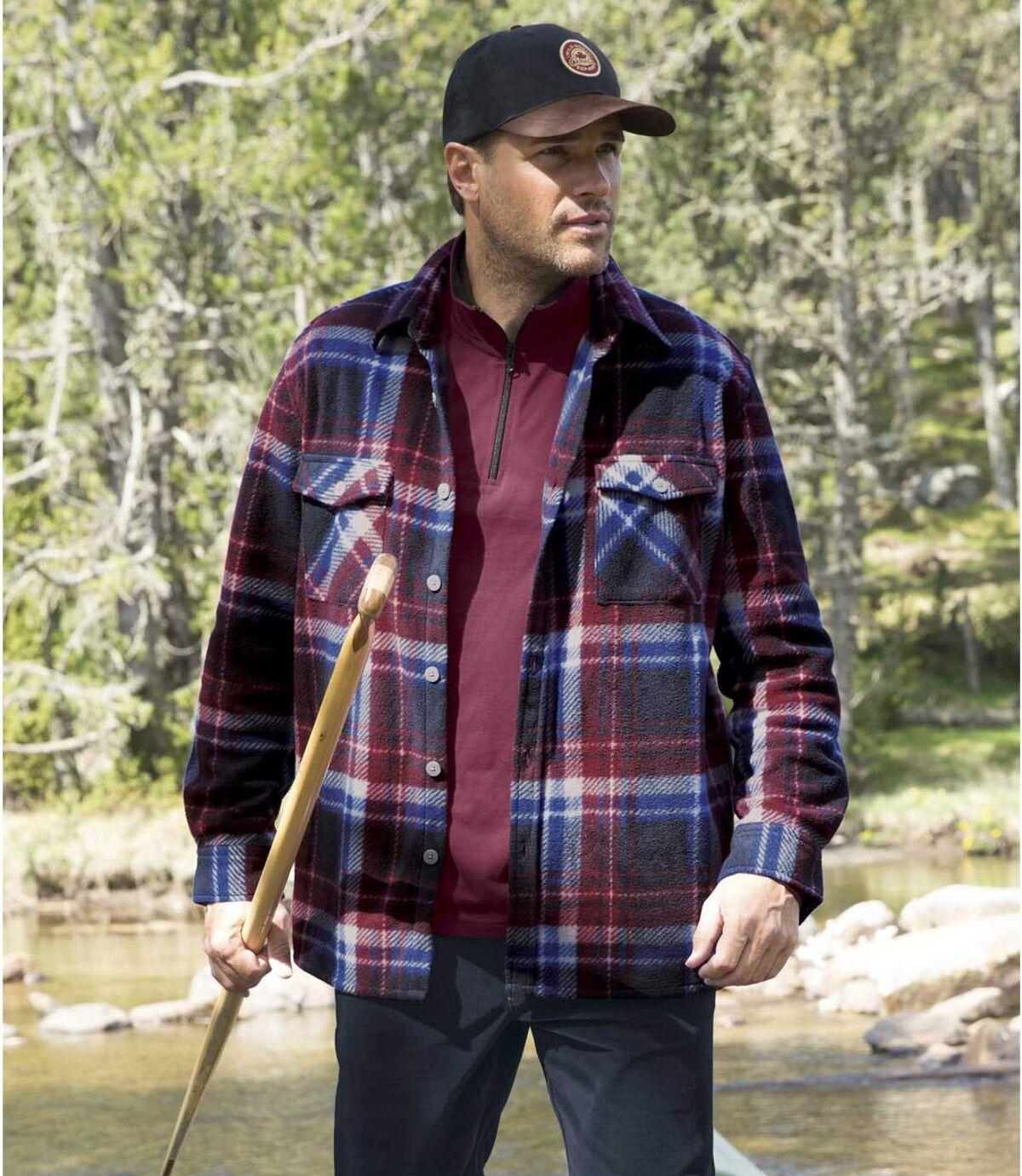 Svrchní fleecová košile Winter Atlas For Men