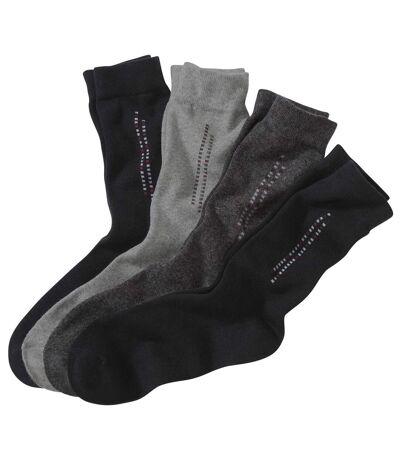 Set van 4 paar originele sokken