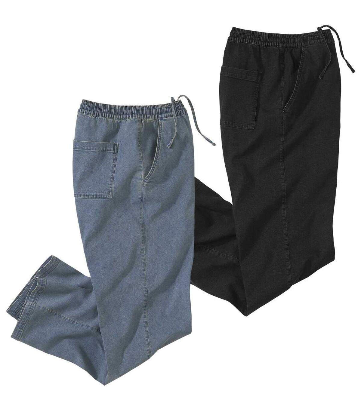 Lot de 2 Jeans Détente Atlas For Men
