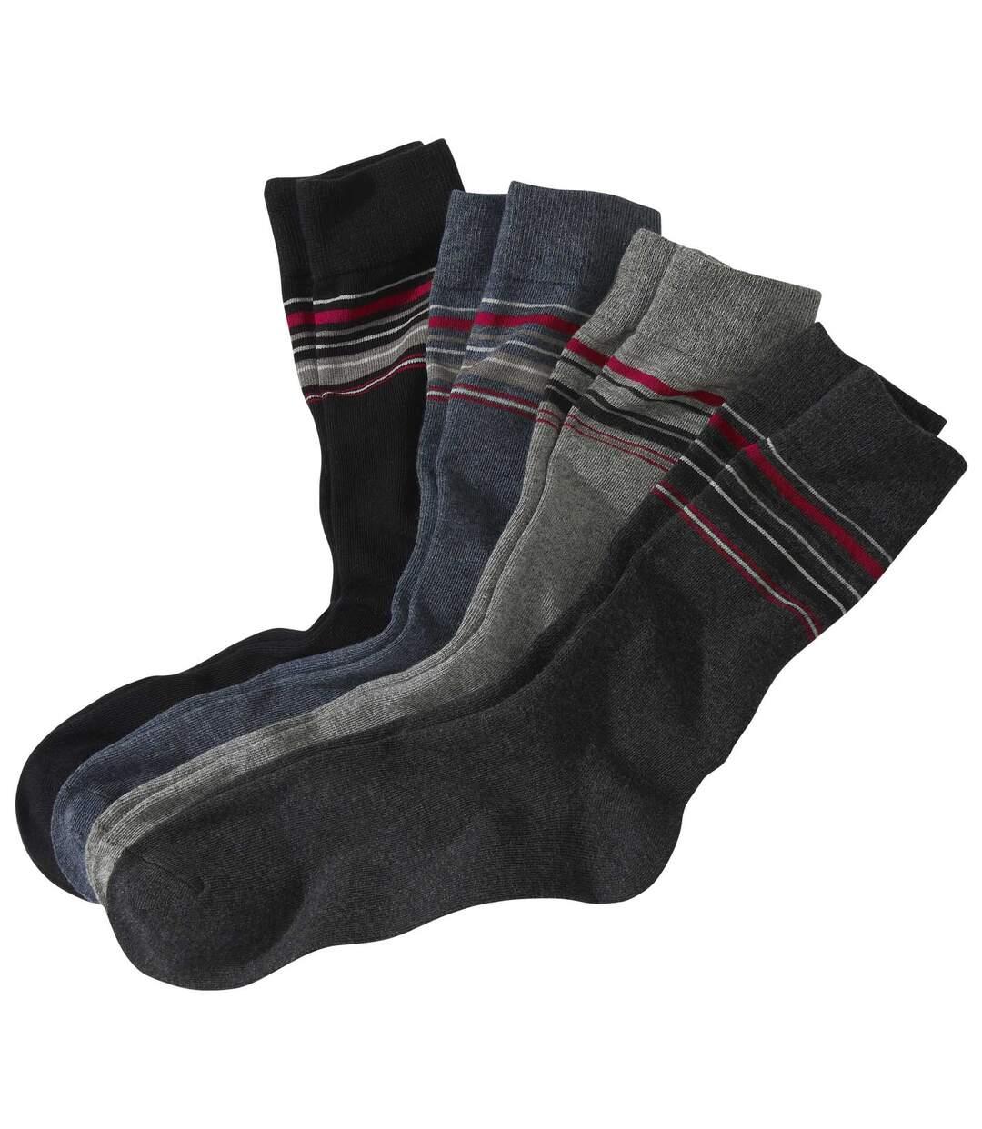 4 Paar modische Socken Atlas For Men