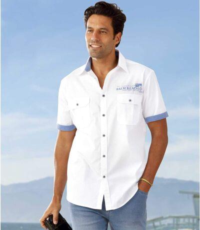 Popelínová košeľa Mykonos