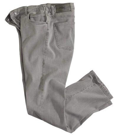 Jean Regular Stretch Taille Semi-Elastiquée
