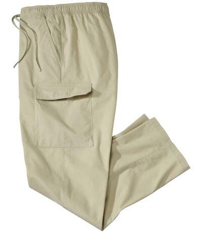 Voľnočasové plátenné nohavice Cargo