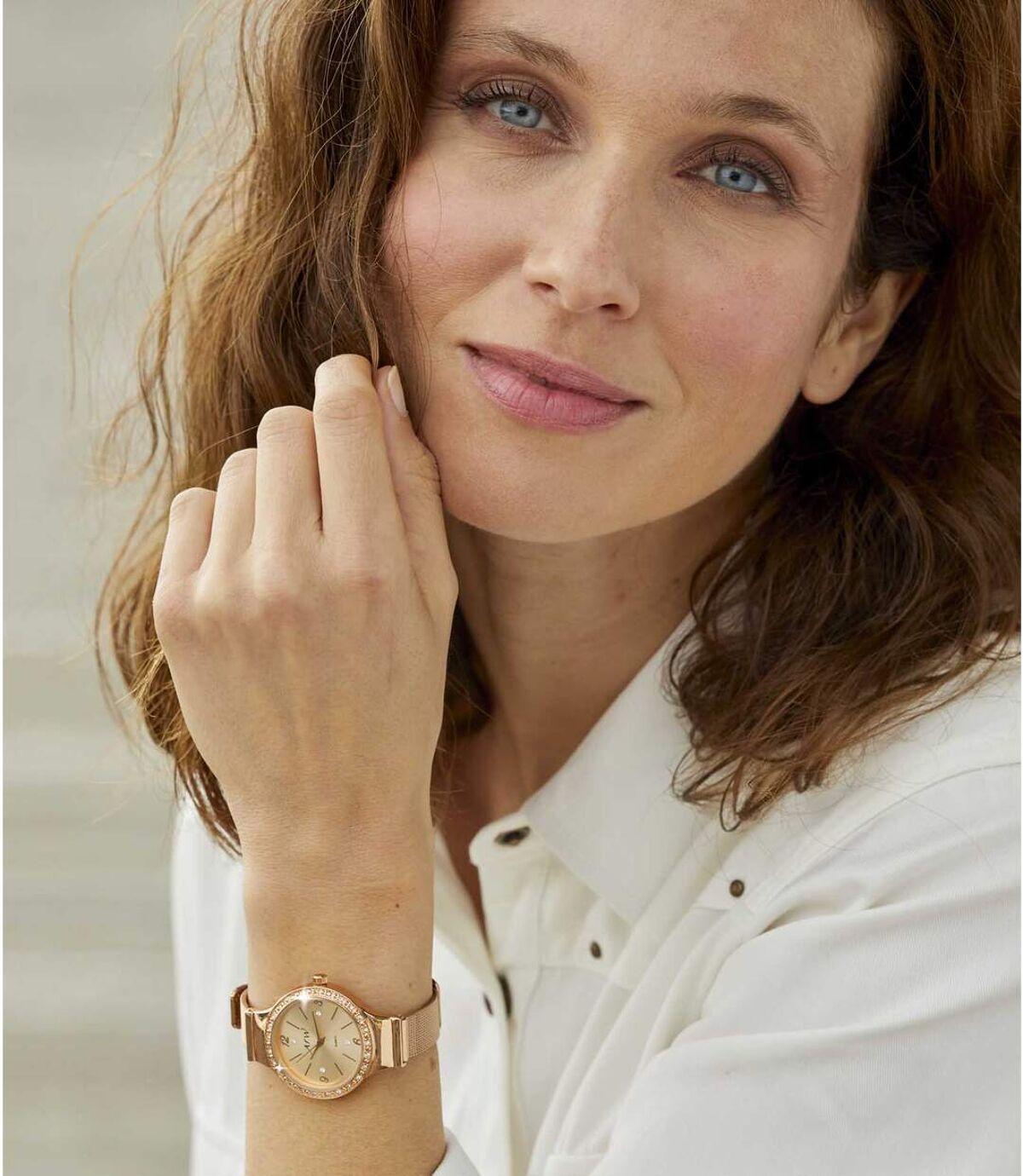 Ozdobny zegarek Z kryształkami Swarovski® Atlas For Men