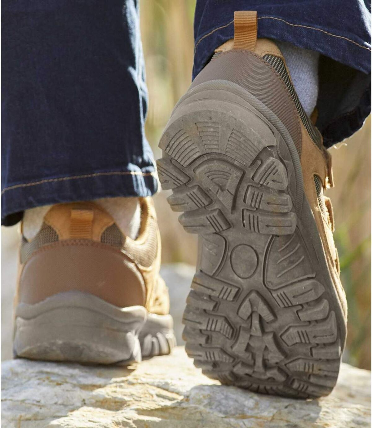 Men's Brown Walking Shoes Atlas For Men