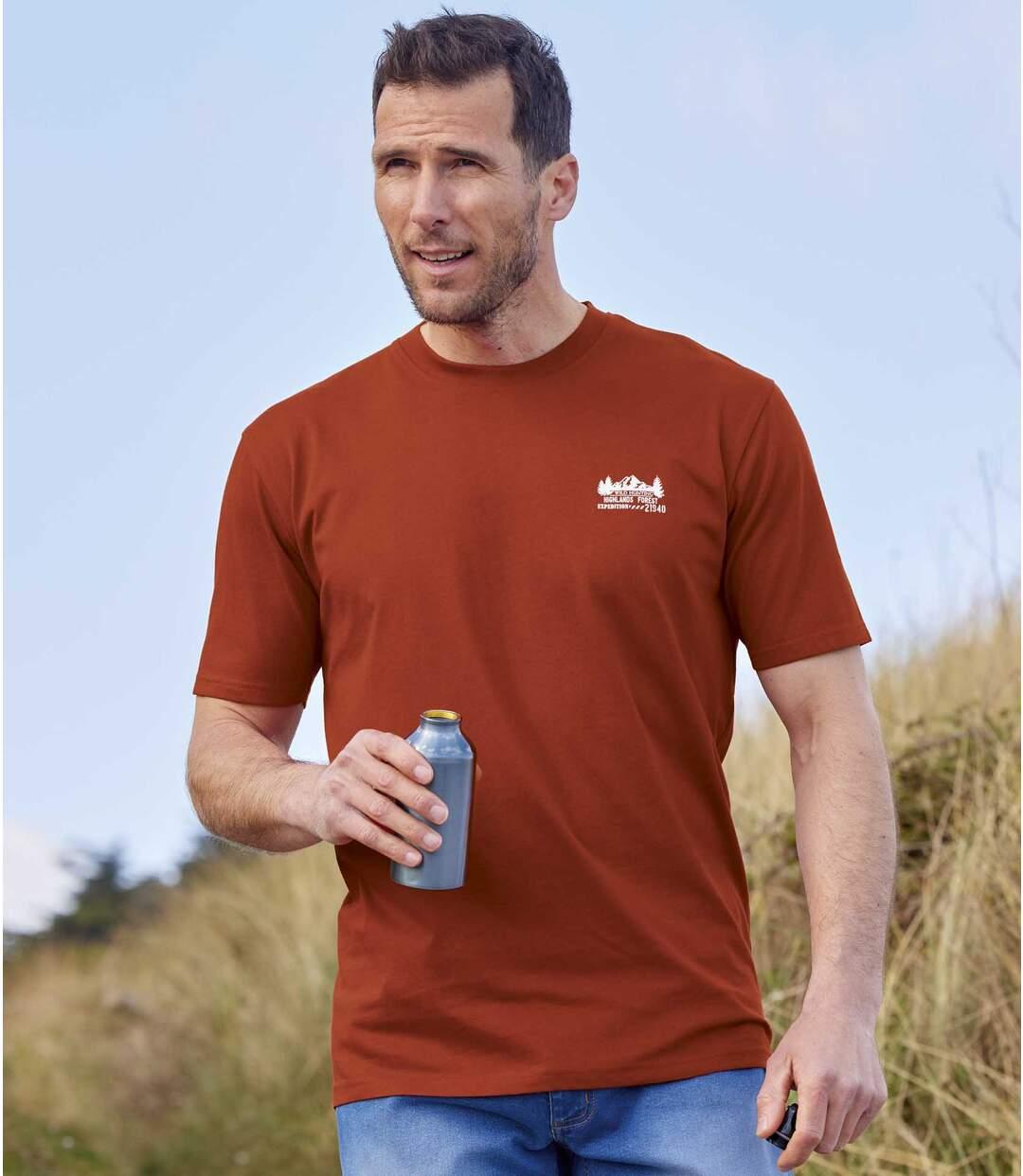 4er-Pack T-Shirts Highlands Forest Atlas For Men