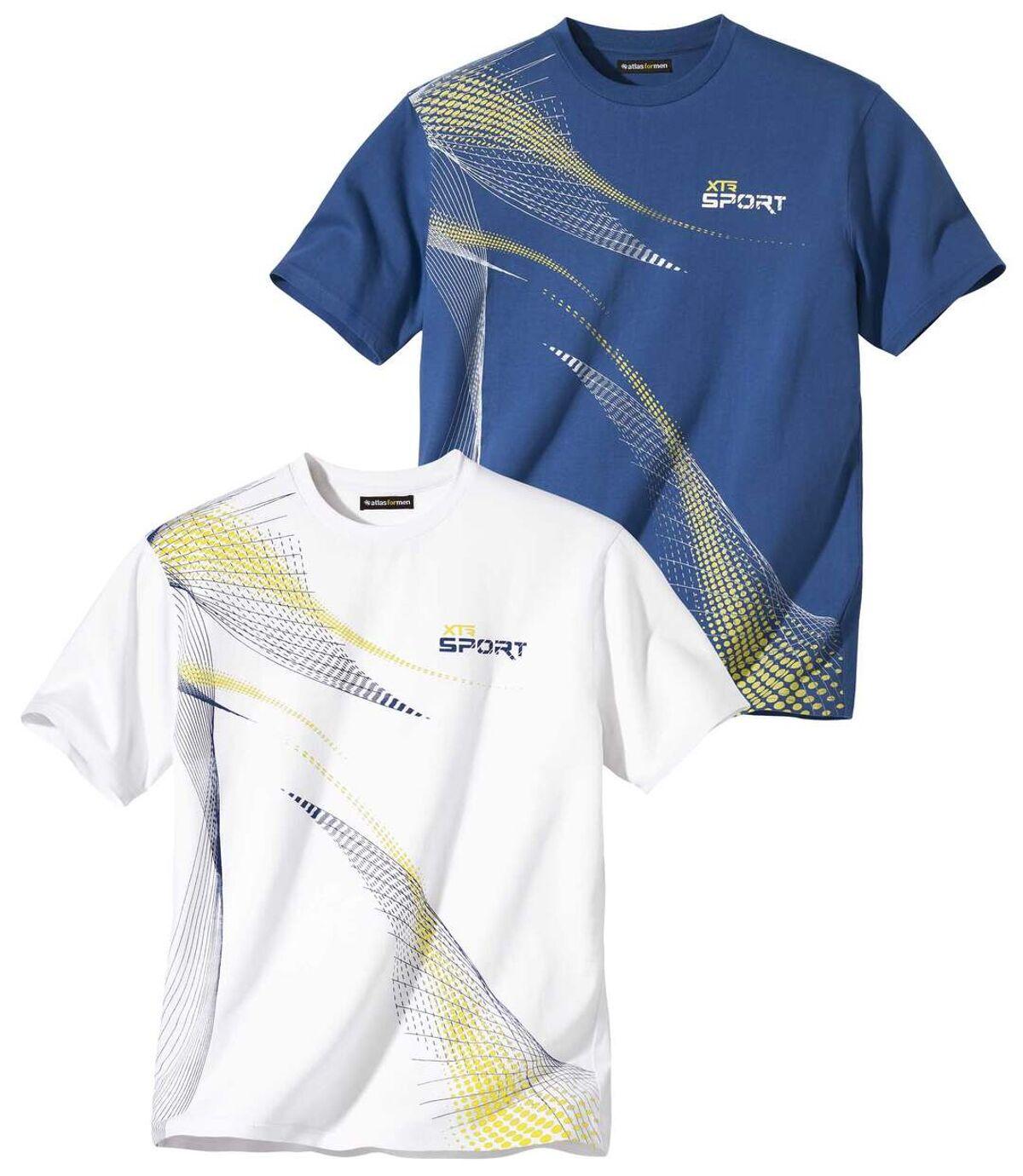 2darabos Sport póló szett  Atlas For Men