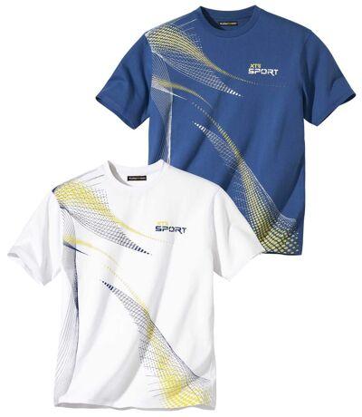 Lot de 2 Tee-Shirts Sport