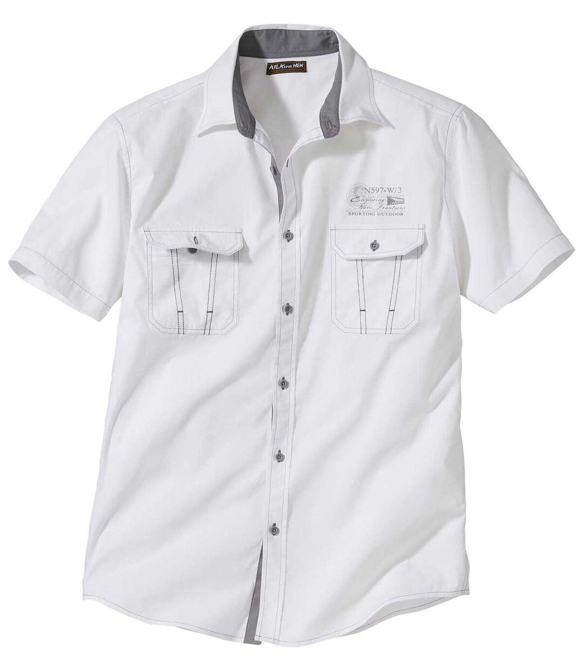 Košeľa v štýle leteckej uniformy Atlas For Men