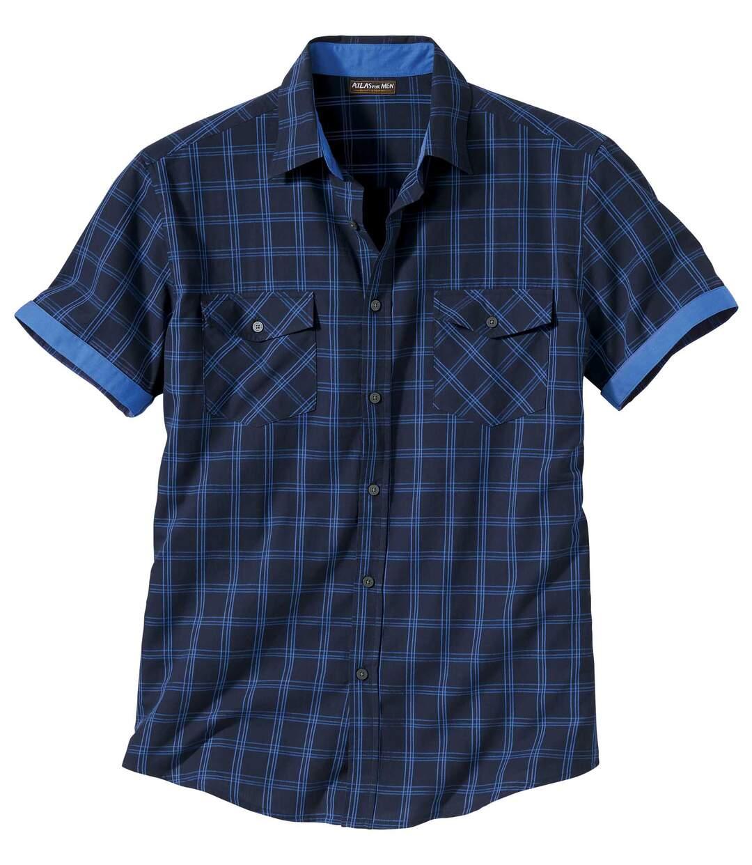 Kockovaná košeľa Mesa