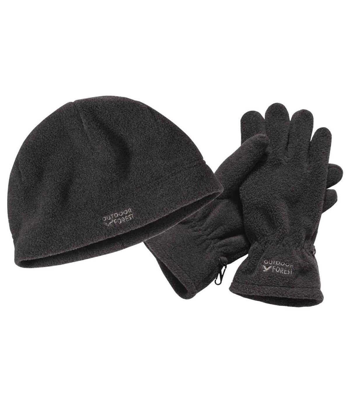 Polarowy duet: czapka + rękawiczki Atlas For Men