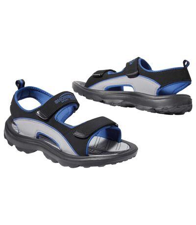 Men's Black All-Terrain Sandals
