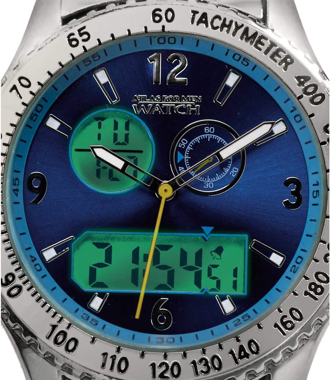 Horloge met dubbele tijdsaanduiding