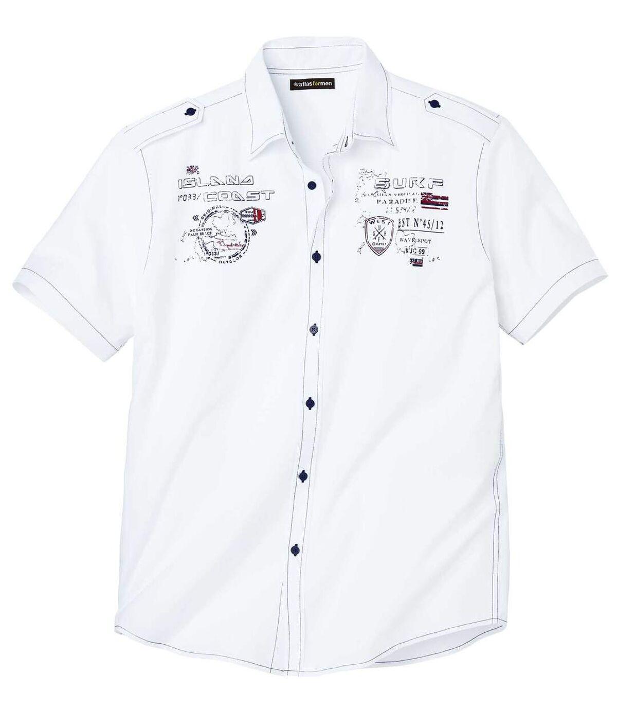 Letecká košile Tropical Island Atlas For Men