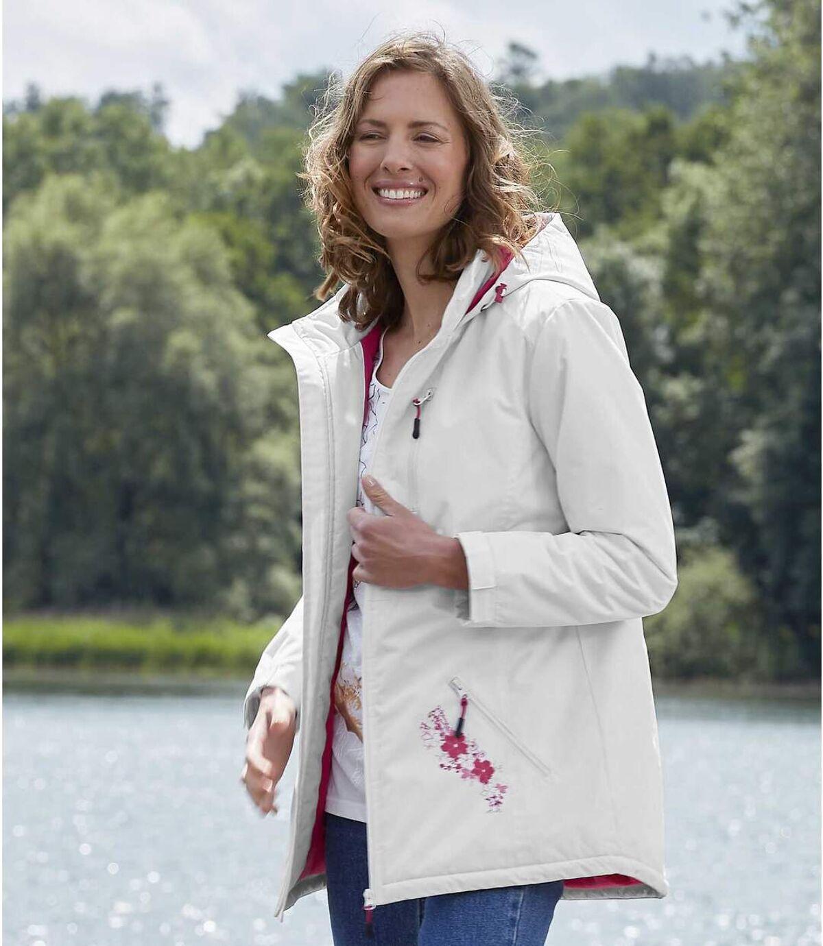 Women's Microtech Fleece-Lined Hooded Parka - Water-Repellent Atlas For Men