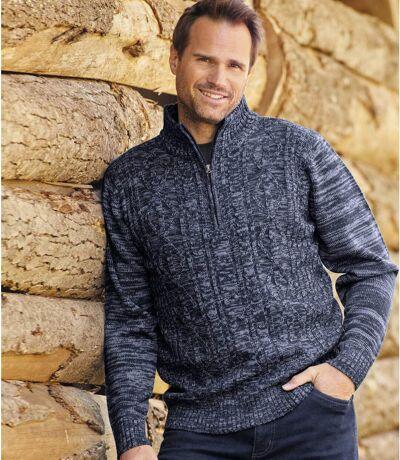 Sweter z warkoczami Rio Grande