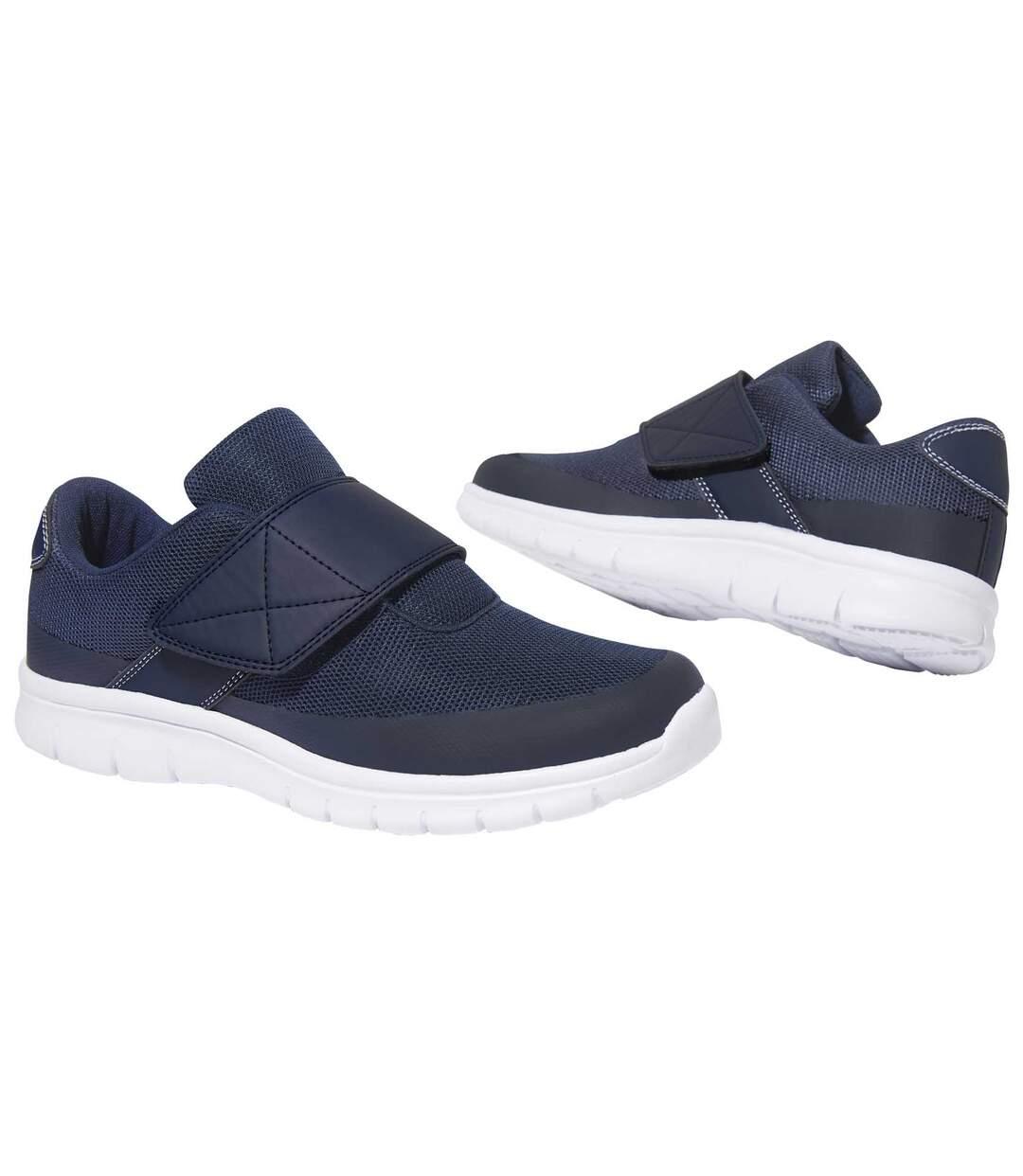 Comfortabele sneakers met klittenband
