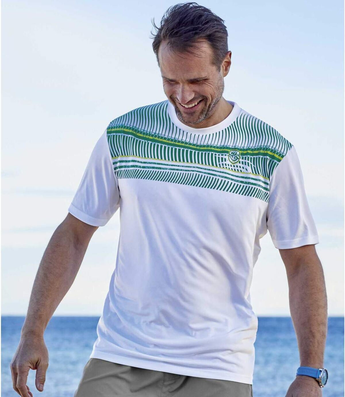 3darabos Summer Sport poliészter póló szett Atlas For Men