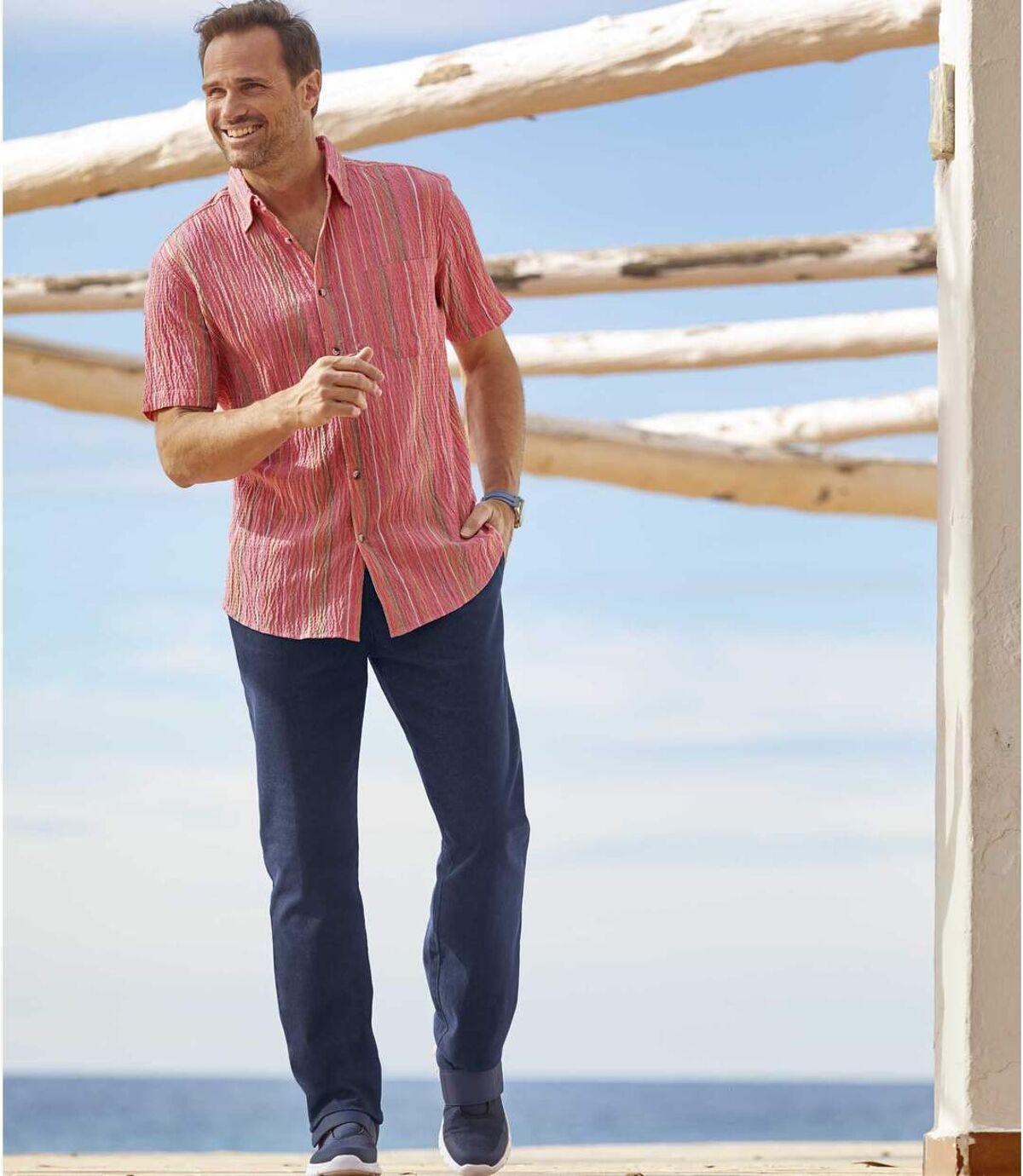Súprava 2 džínsov Top komfort Atlas For Men