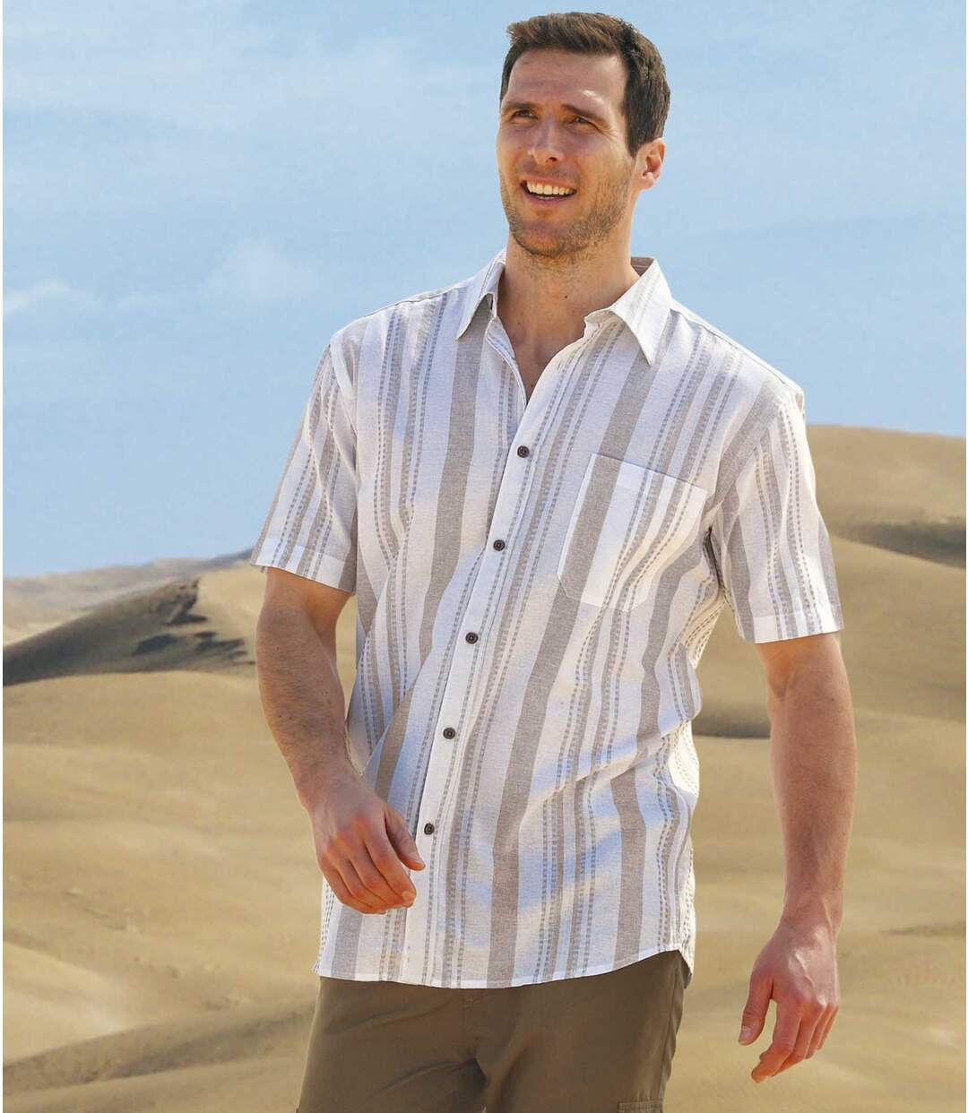 Koszula w paski Sahara Trip