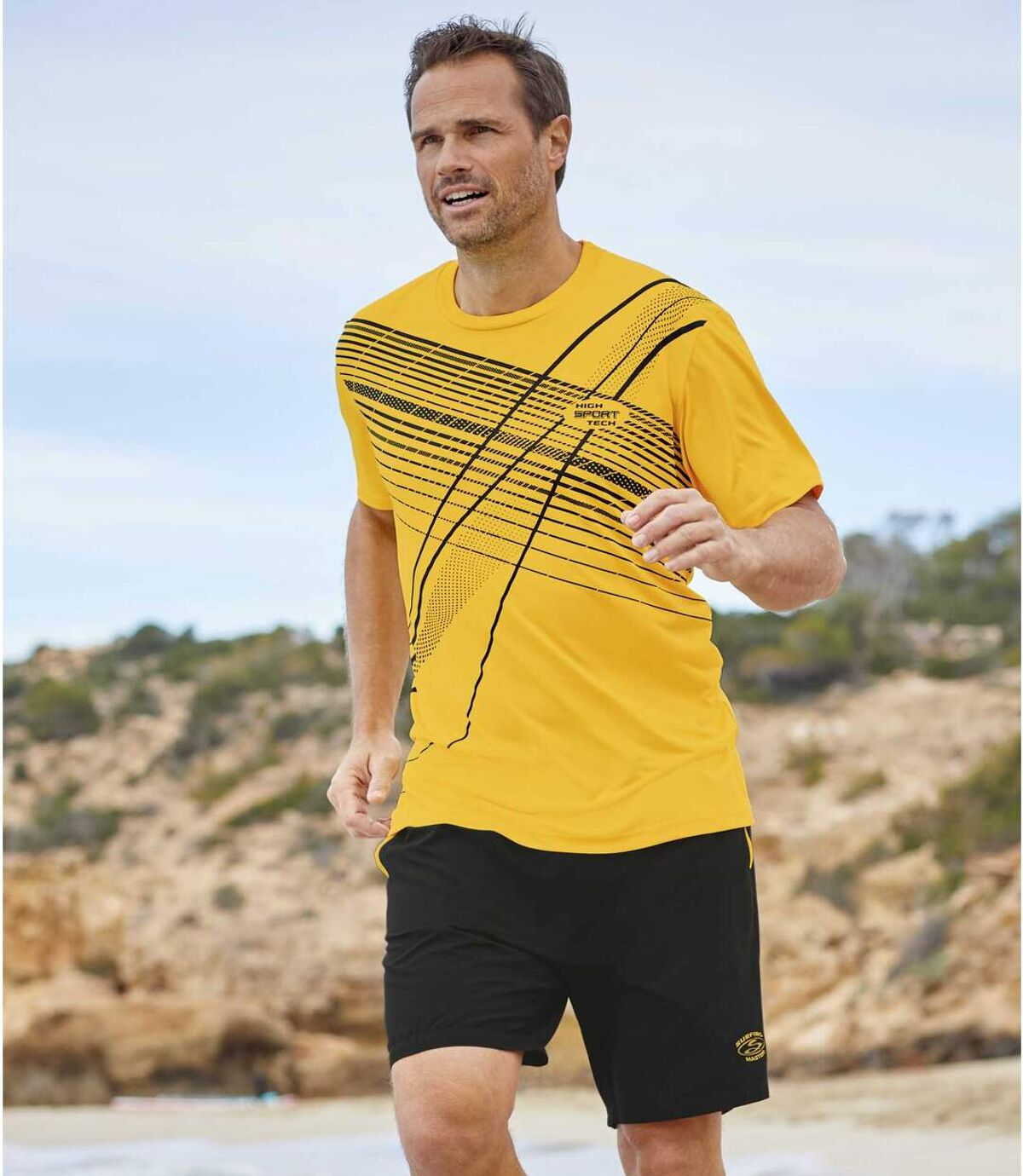 2er-Pack Shorts Sunny Beach aus Microfaser Atlas For Men