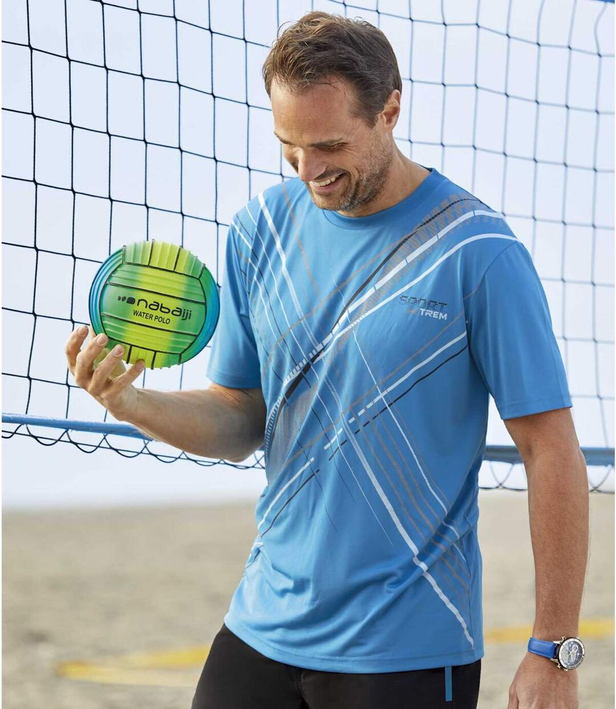3darabos Sport X-Trem mintás póló szett  Atlas For Men