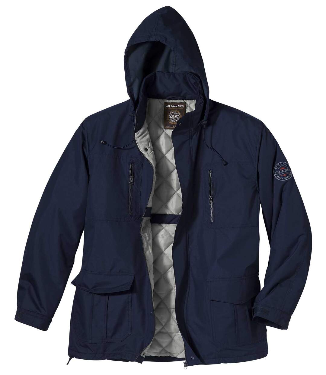 Multipocket parka Hudson