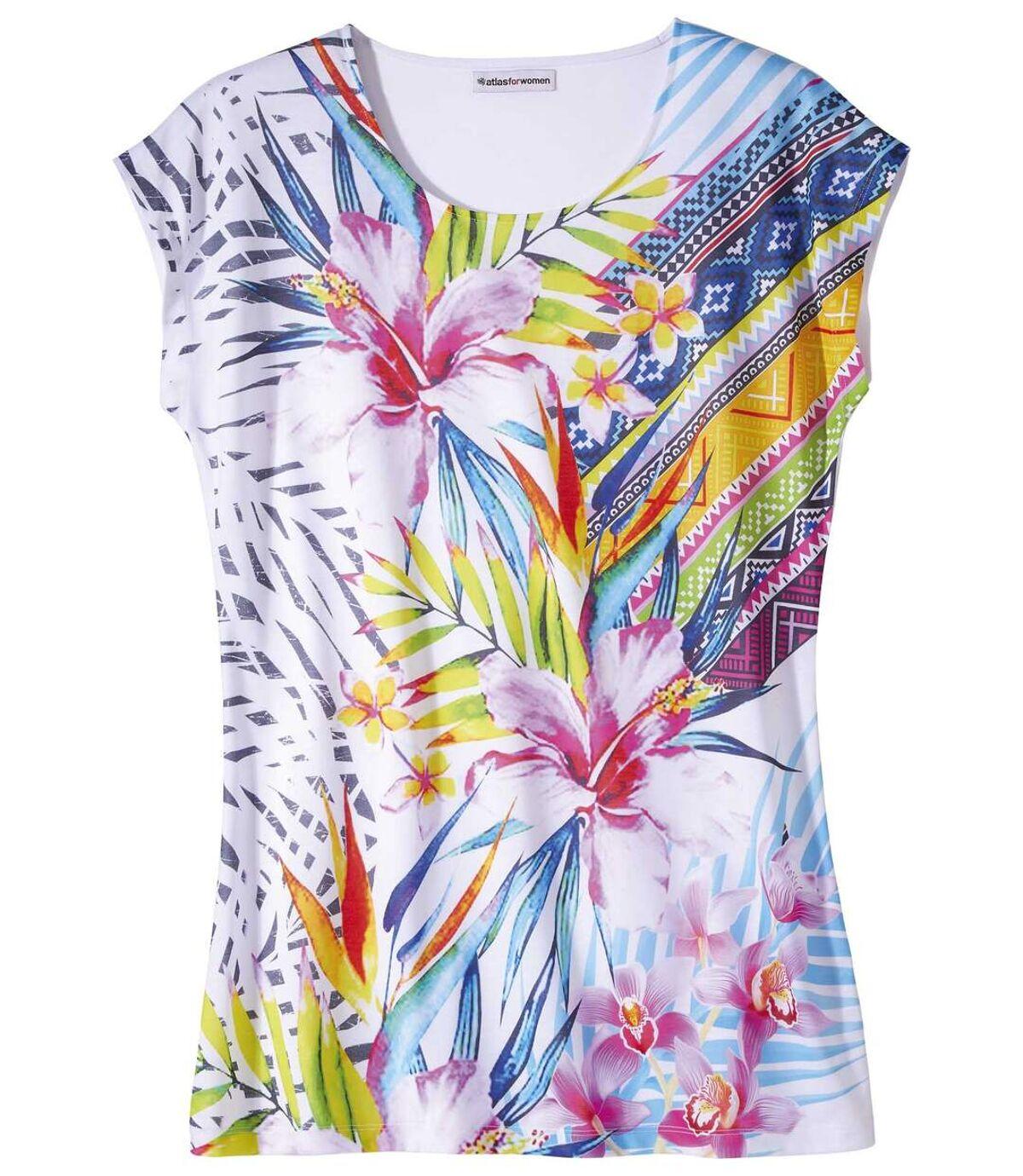 Kwiatowy t-shirt Maxi Atlas For Men