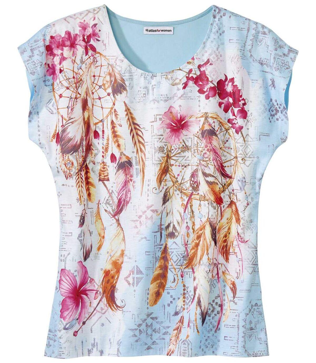 Tričko s potiskem lapačů snů Atlas For Men