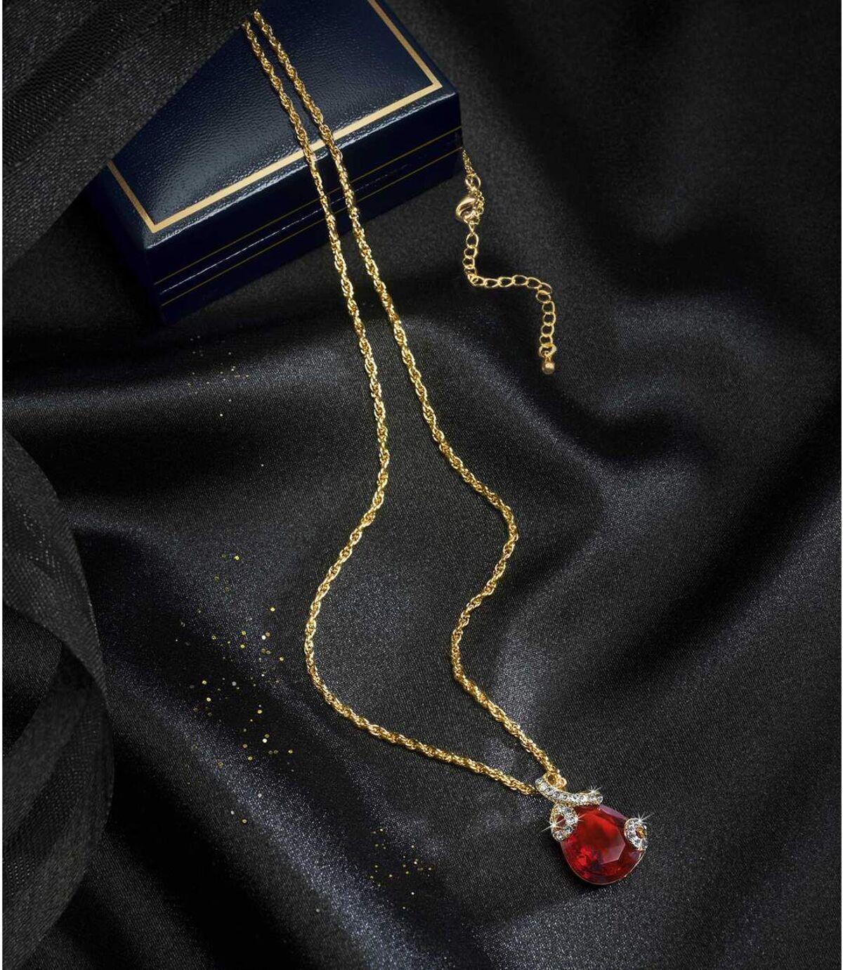 Die Halskette Kristalltropfen Atlas For Men