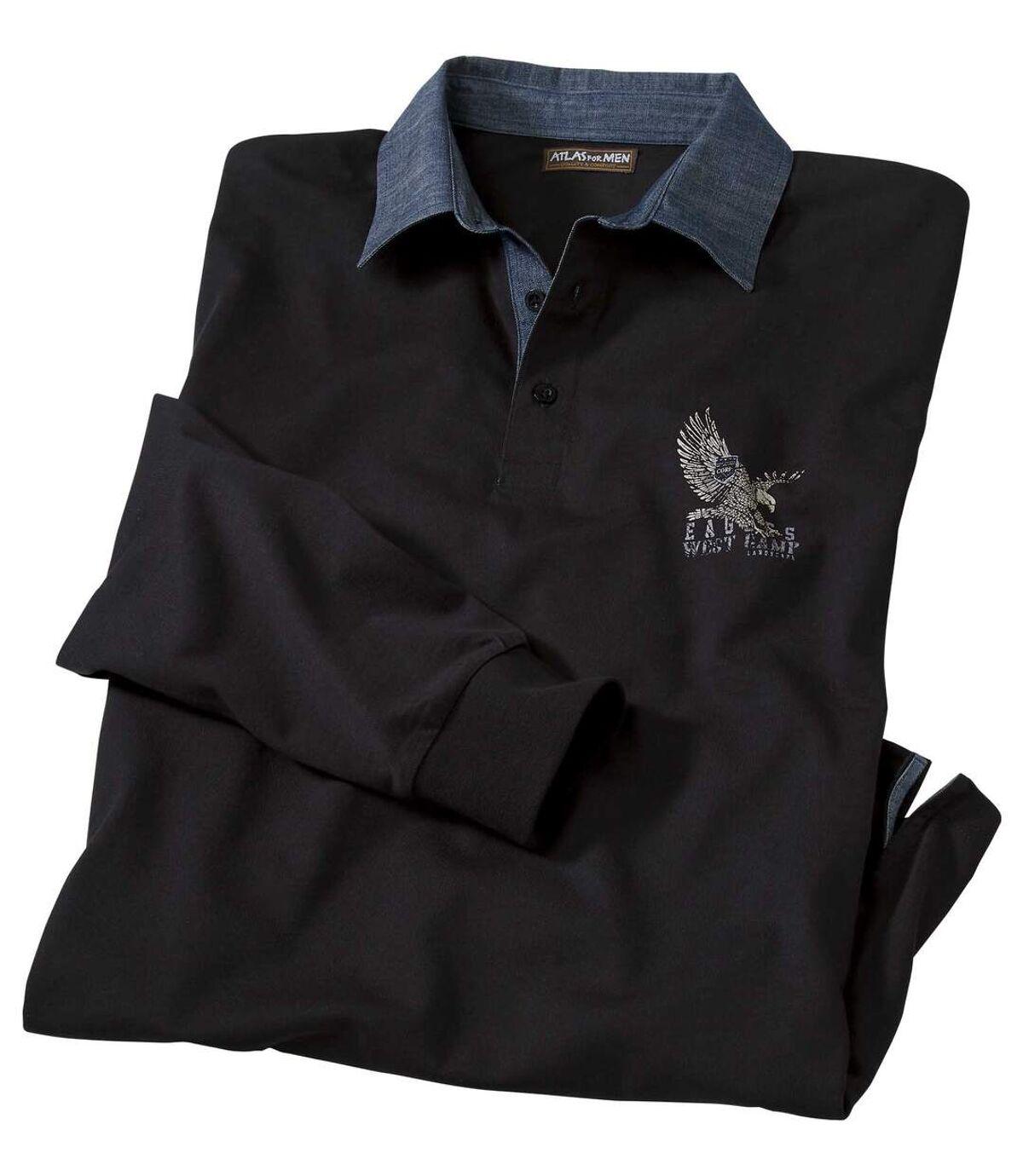 Men's Denim Collar Polo Shirt  Atlas For Men