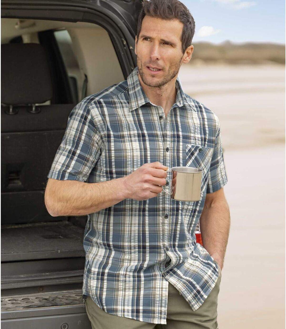 Chemise à Carreaux Ultra-Légère  Atlas For Men