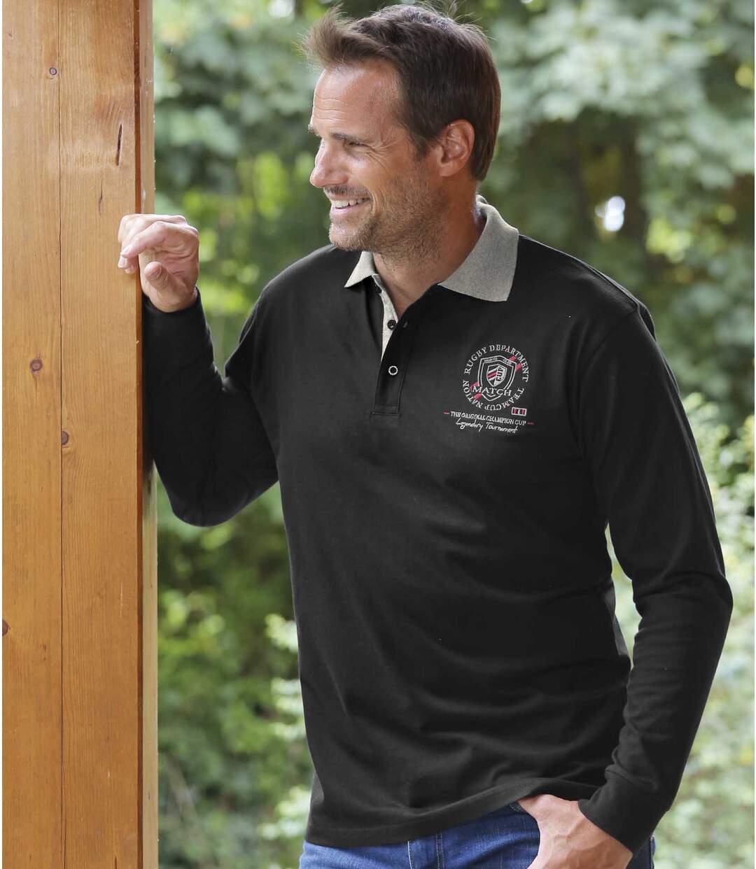 Lot de 2 Polos en Jersey Canada Atlas For Men