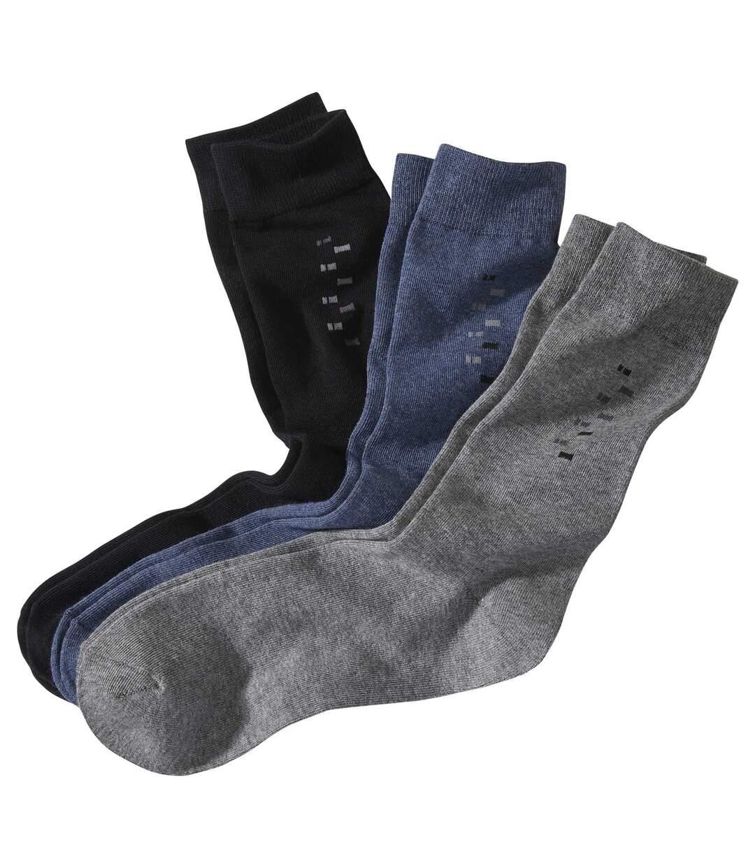 Set van 3 paar klassieke sokken Atlas For Men