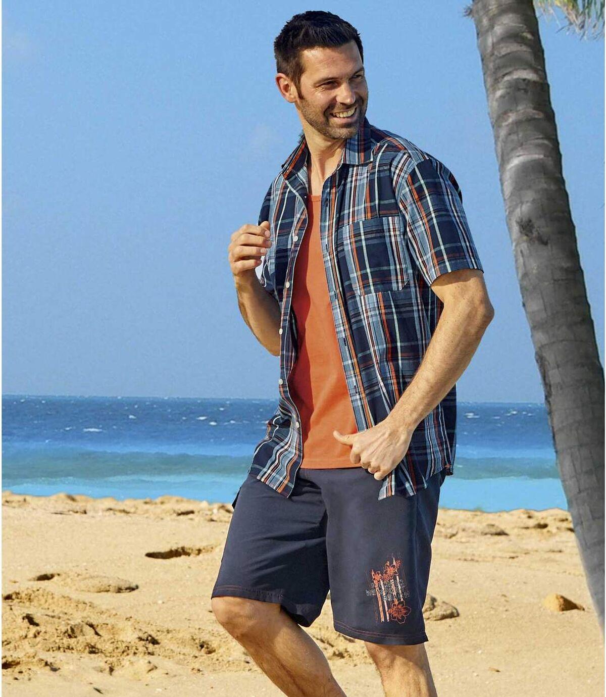 Bermudy kąpielowe Newport Beach Atlas For Men