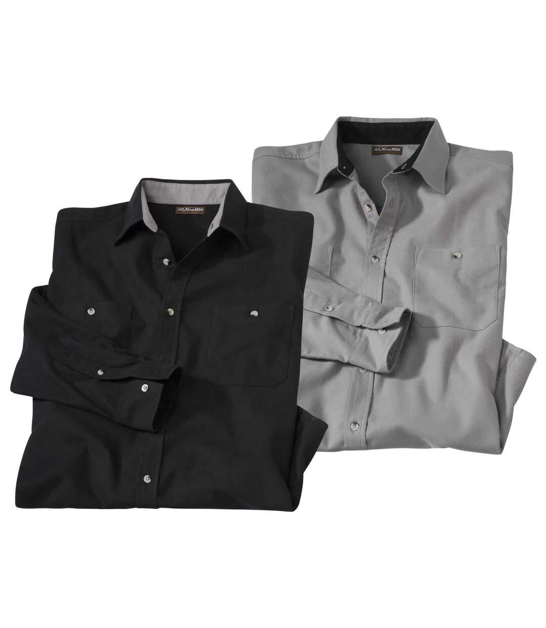 Két darabos flanel ingből álló szett