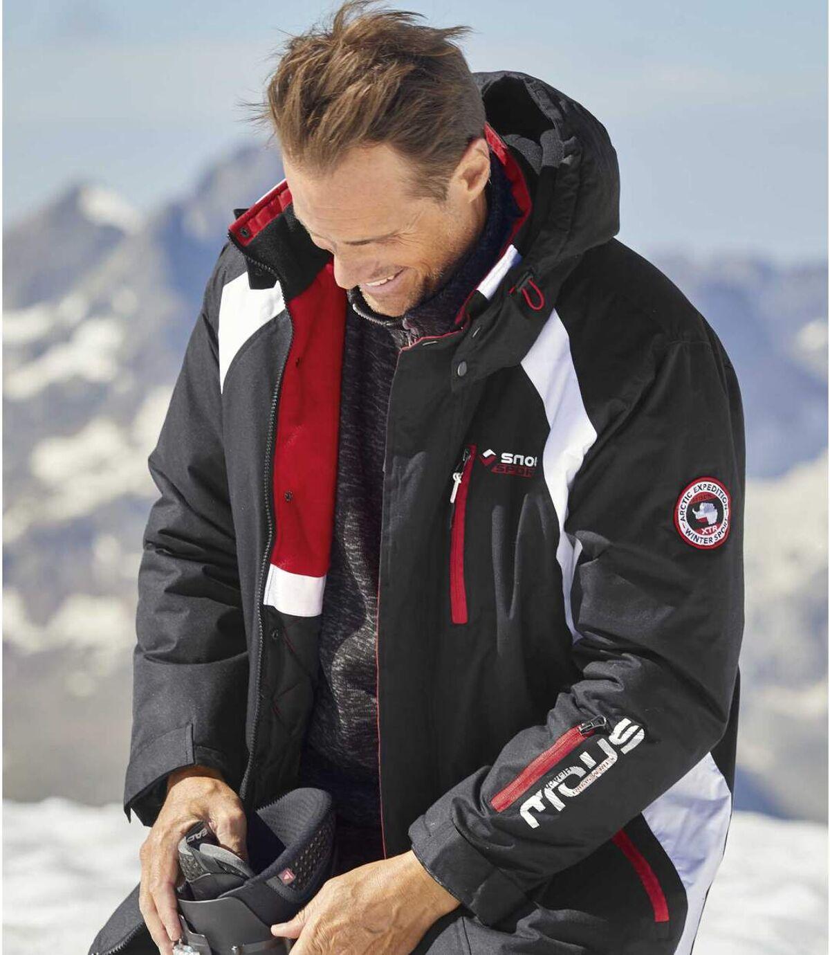 Parka Ski à Capuche Ski Moutain Tech  Atlas For Men