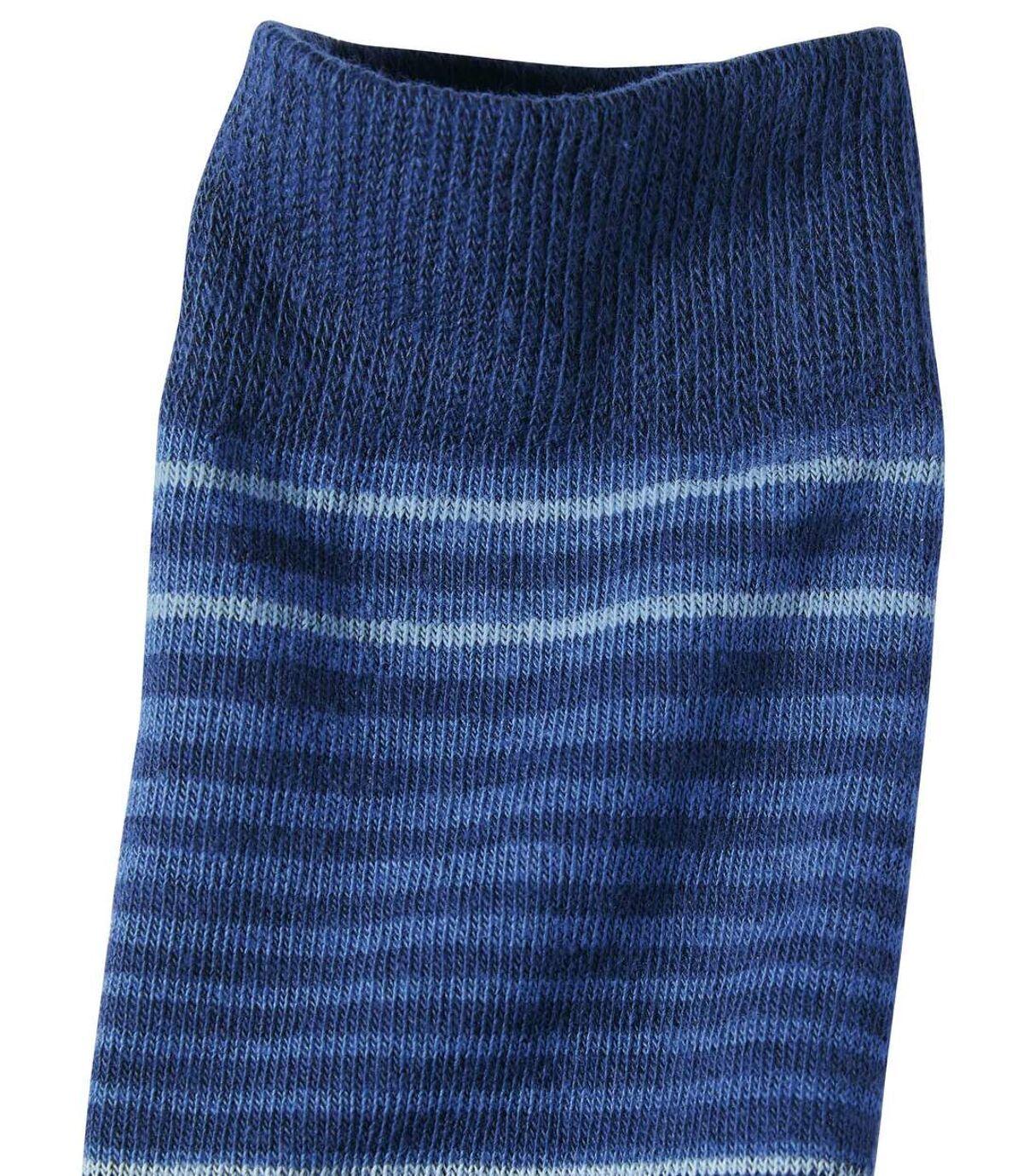 Set van 4 paar gestreepte sokken Atlas For Men
