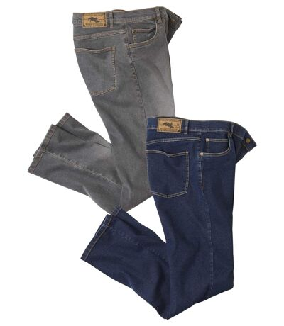 Set van 2 regular stretch jeans