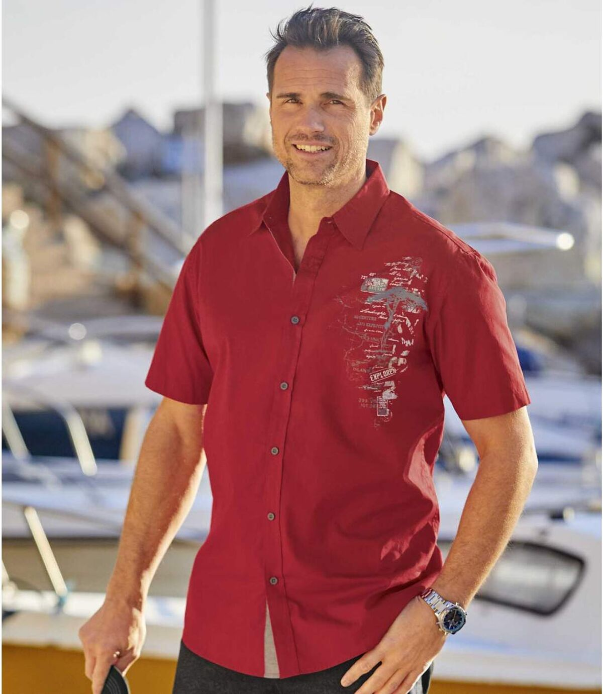 Popelínová košile Explorer Atlas For Men
