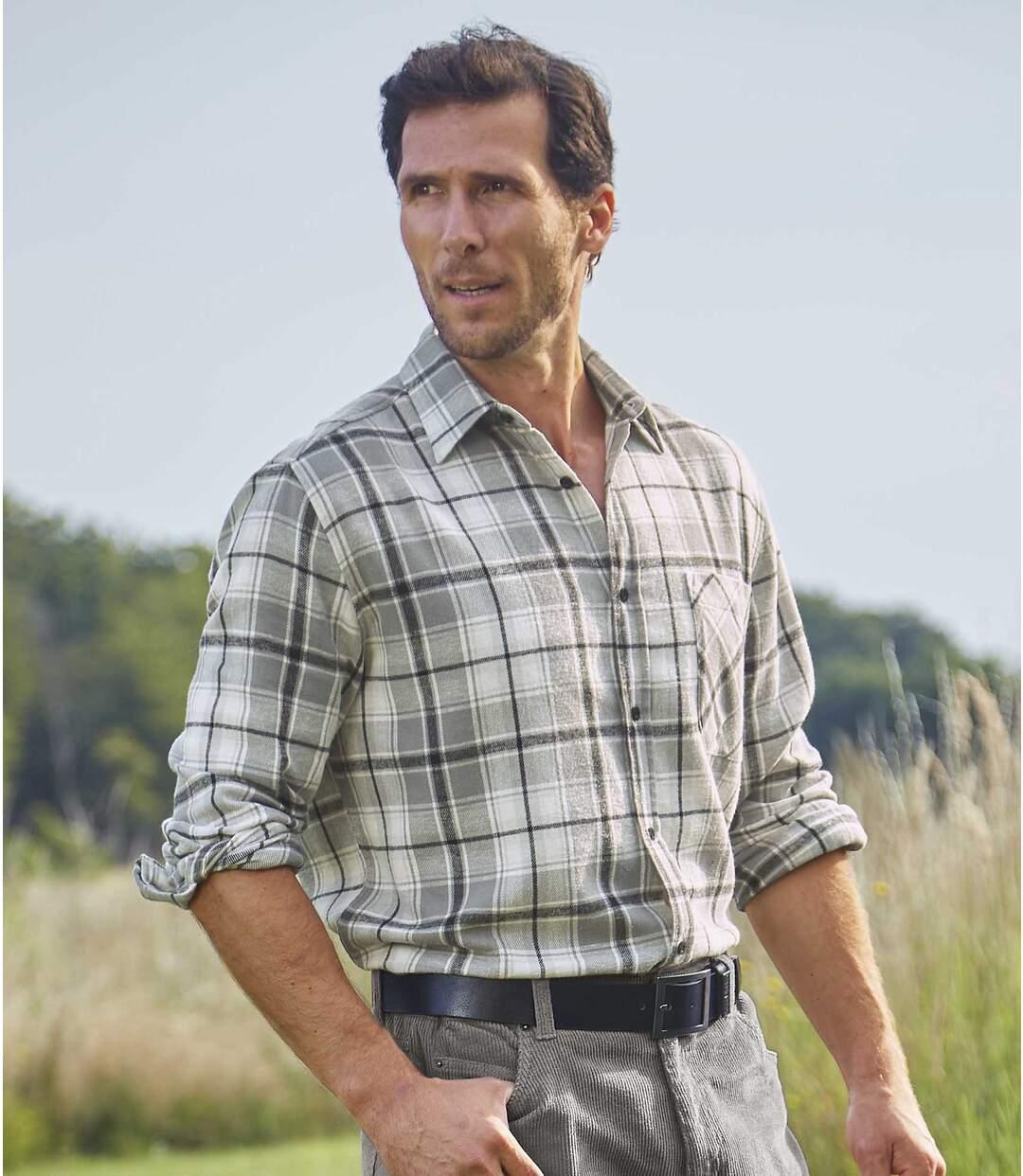 Kockovaná flanelová košeľa Wintertime