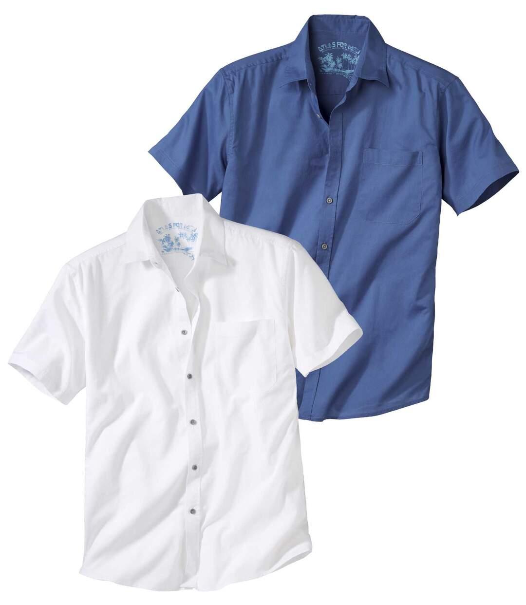 Zestaw 2 morskich koszul Atlas For Men