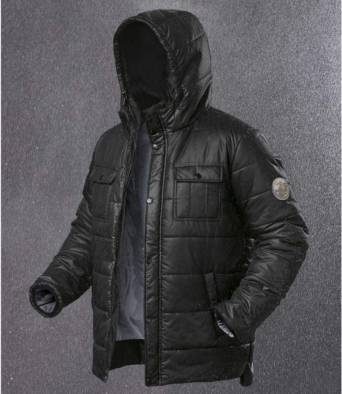 Men's Lightweight Black Atlas For Men® Puffer Jacket Atlas For Men