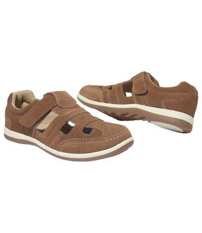 Chaussures d'Été Scratchées