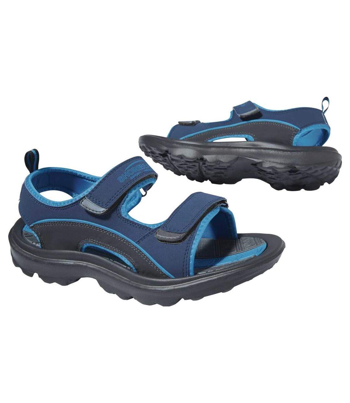 Men's Blue Tough Terrain Sandals Atlas For Men