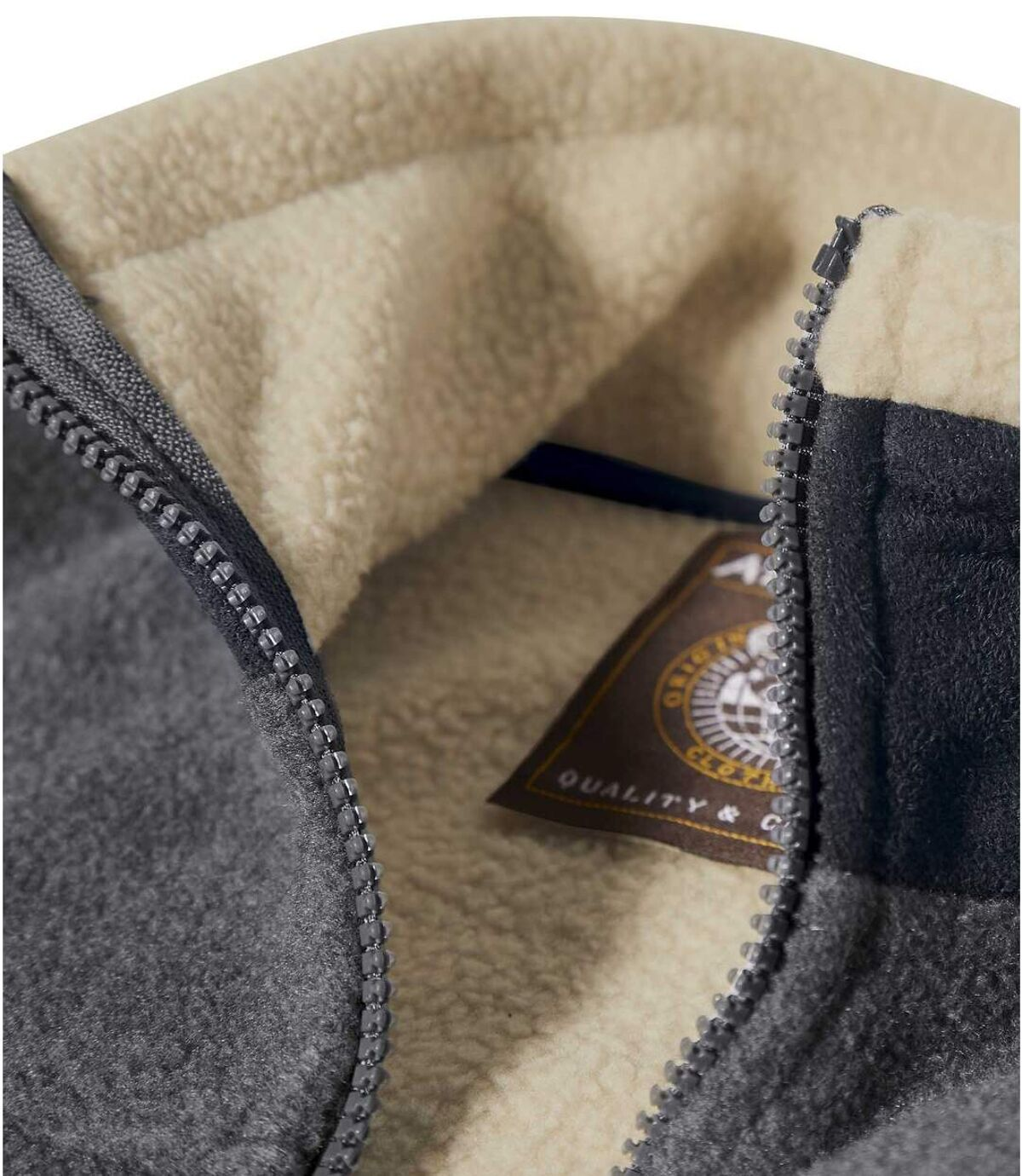 Fleecová bunda Original Winter zateplená umělou kožešinou Atlas For Men