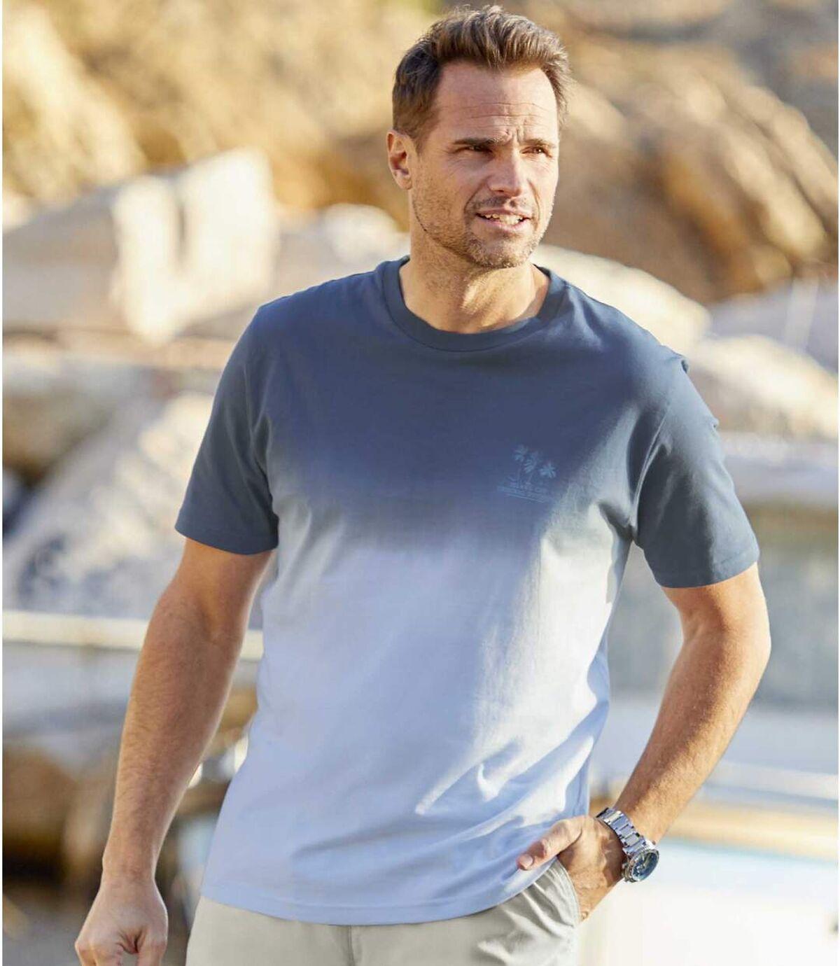 2er-Pack T-Shirts Sunset im Batik-Look Atlas For Men