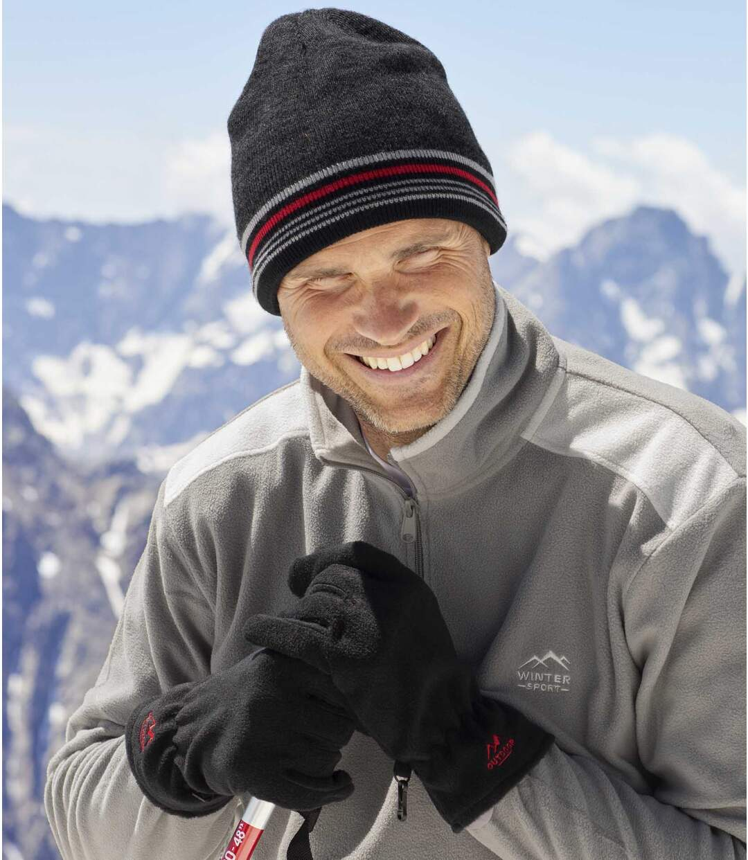 Outdoorové hrejivé duo čiapka + rukavice Atlas For Men