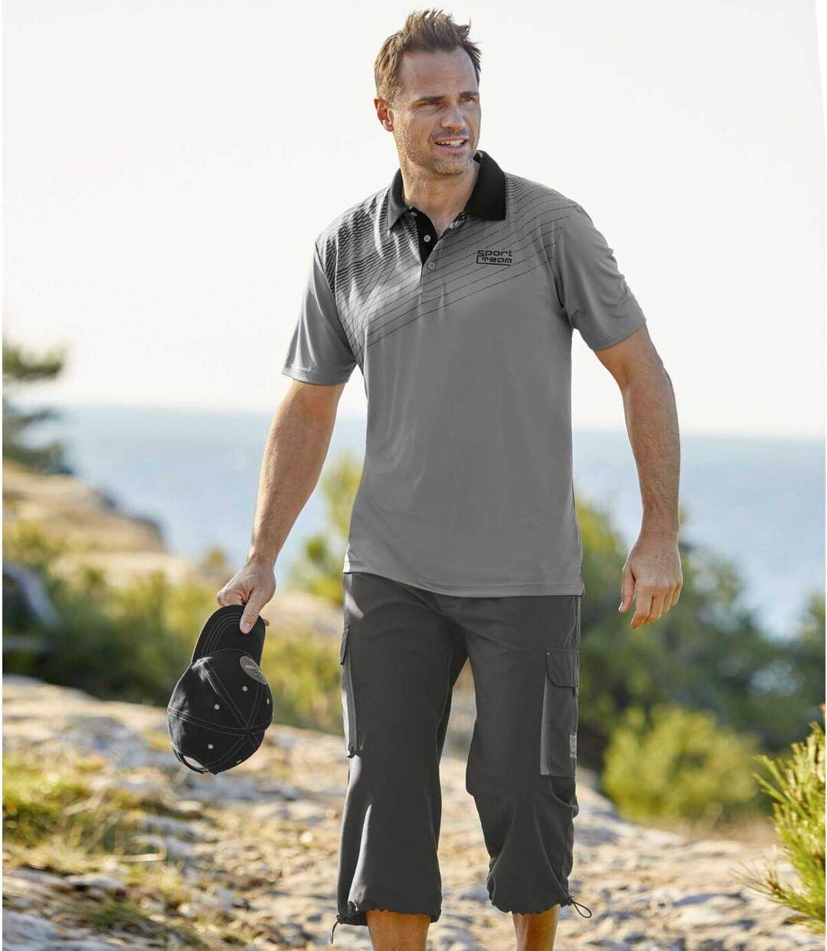 Spodnie bojówki ¾ z mikrofibry Wild Coast Atlas For Men